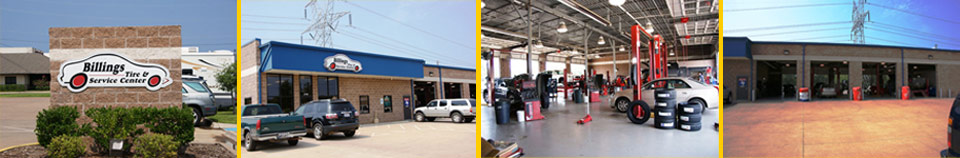 Billings Tire & Service Center in Tyler, TX